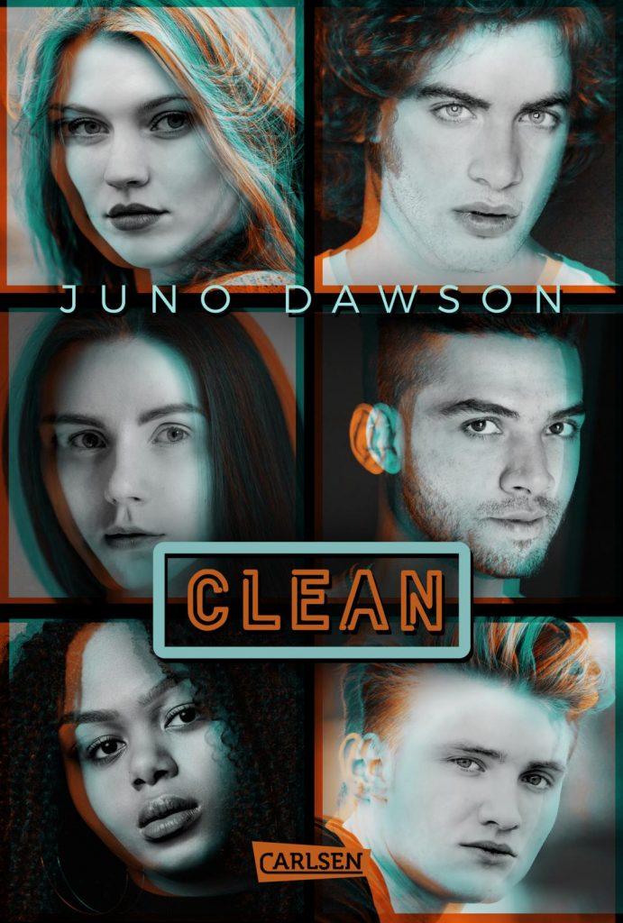 """Neuerscheinung Juni: """"Clean"""" von Juno Dawson, (c) Carlsen Verlag"""