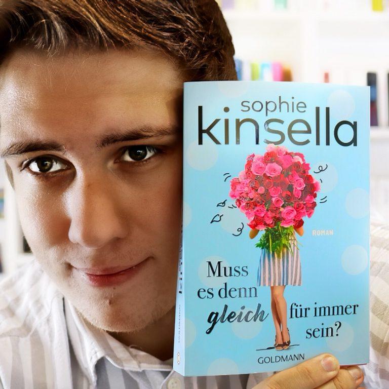 """Cover """"Muss es denn gleich für immer sein?"""" von Sophie Kinsella"""
