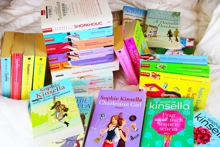 "Beitragsbild ""My all time favourite author: Sophie Kinsella"""
