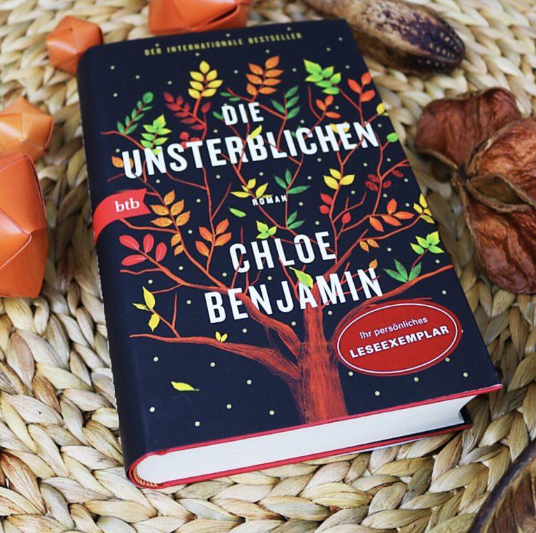 """Beitragsbild """"Die Unsterblichen"""" von Chloe Benjamin"""