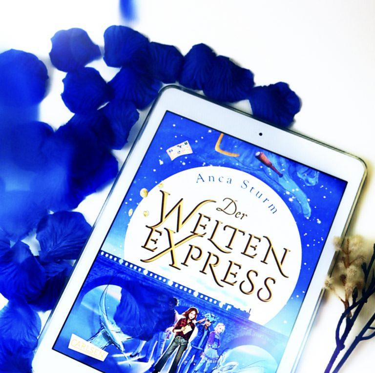 """Beitragsbild """"Der Welten-Express"""" von Anca Sturm"""