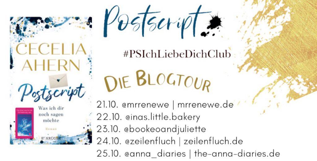 Postscript Blogtour Banner