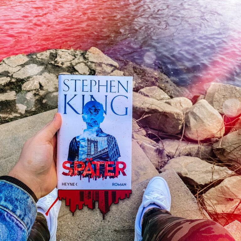 Hardcover Ausgabe von Später von Stephen King